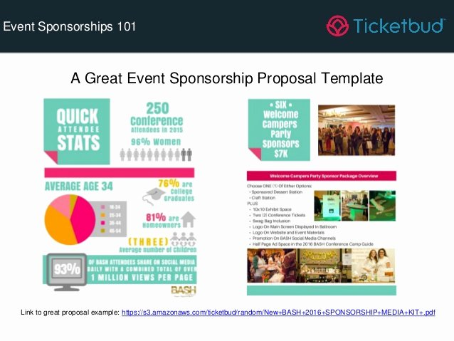 Event Sponsorship Proposal Template Elegant event Sponsorships 101 How to Grow Your event Revenue