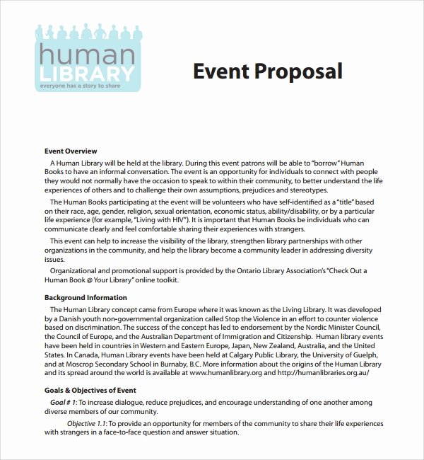 Event Sponsorship Proposal Template Unique 25 Sample event Proposal Templates – Psd Pdf Word