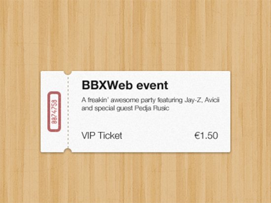 Event Ticket Template Photoshop Elegant 33 Free Ticket Templates & Psd Mockups for Your Next