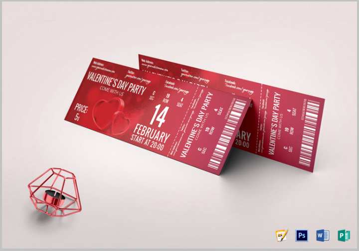 Event Ticket Template Photoshop Fresh 14 Restaurant Ticket Designs & Templates Psd Vector