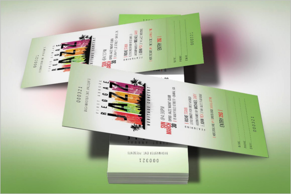 Event Ticket Template Photoshop Luxury 40 event Ticket Templates