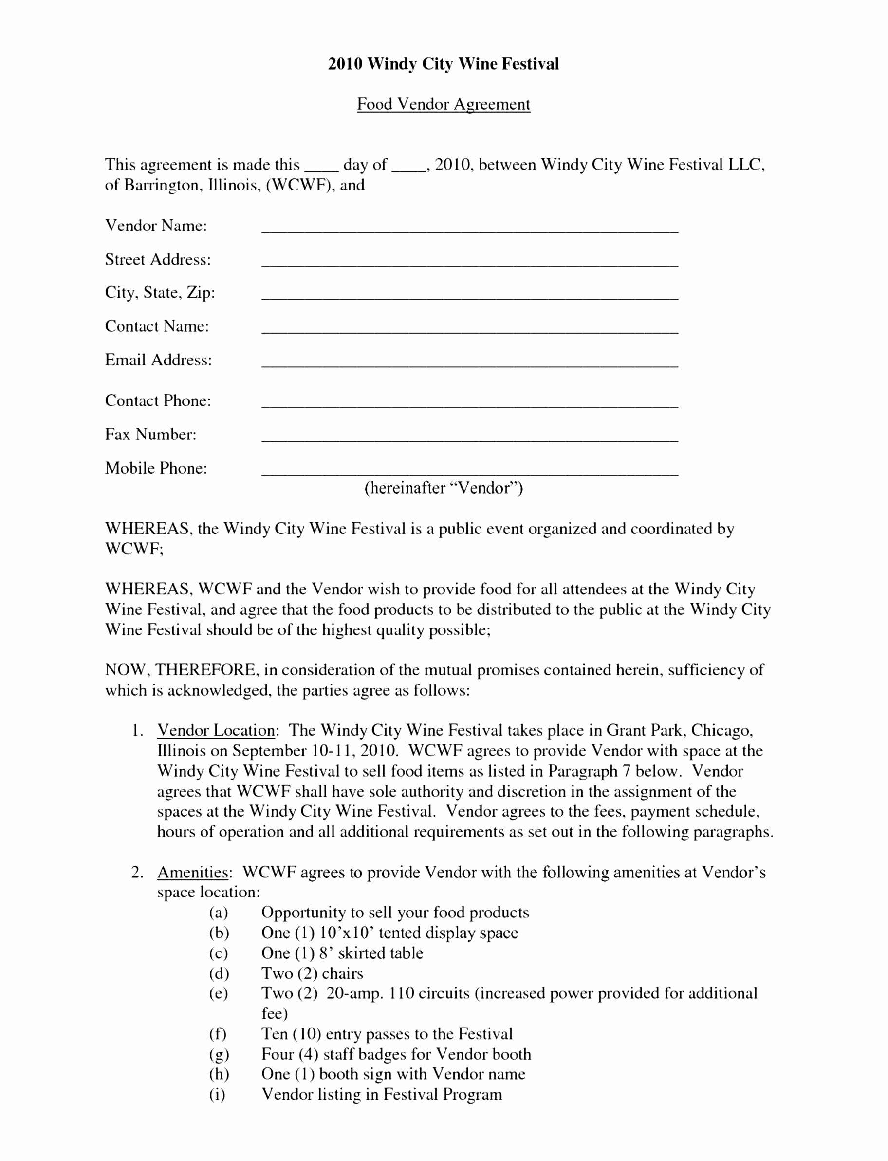 Event Venue Contract Template Beautiful 6 event Space Rental Agreement Template Arpir