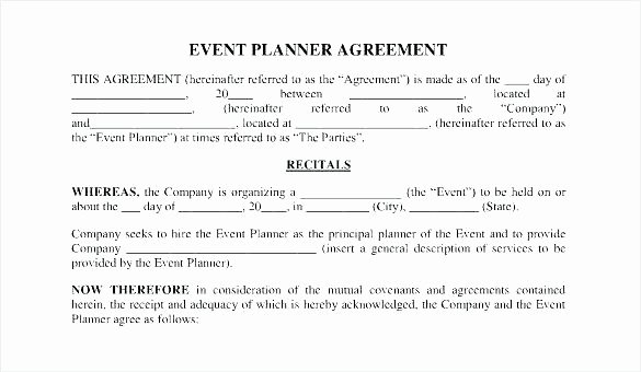 Event Venue Contract Template Fresh Bcfaefaefcca Wedding Planner Fice event Planning