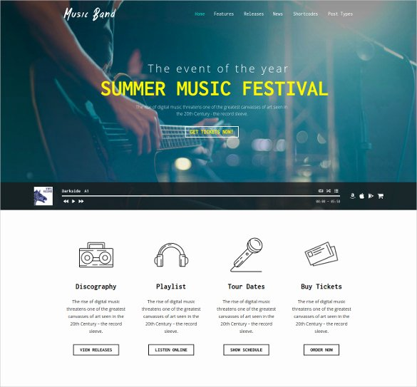 Event Website Template Free Awesome 21 event Website themes & Templates