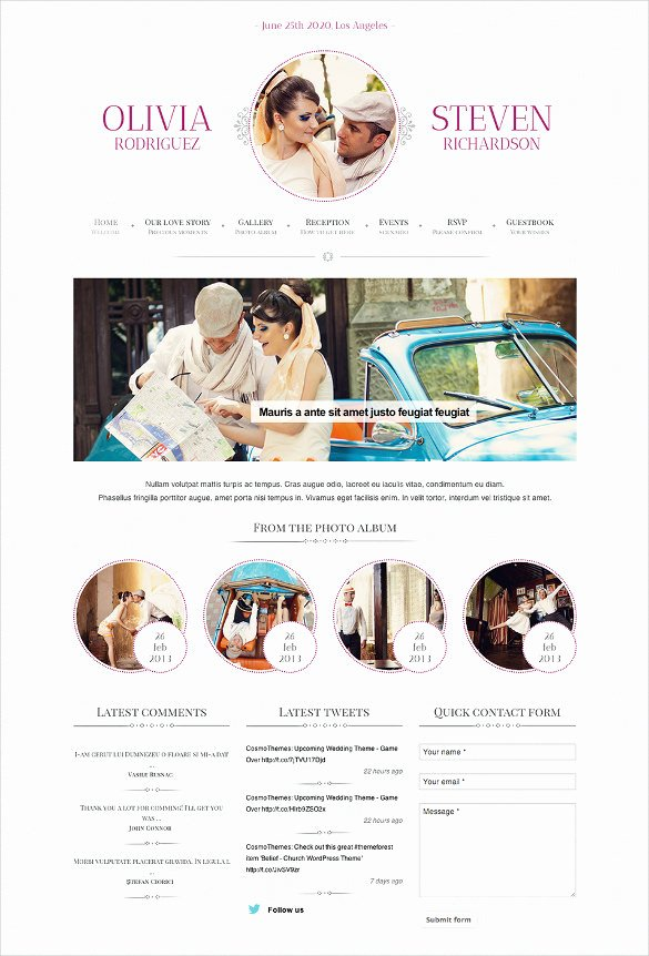 Event Website Template Free Elegant 33 event Planning Website themes & Templates