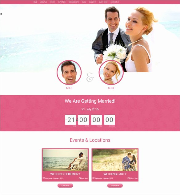 Event Website Template Free Inspirational 21 event Bootstrap themes & Templates
