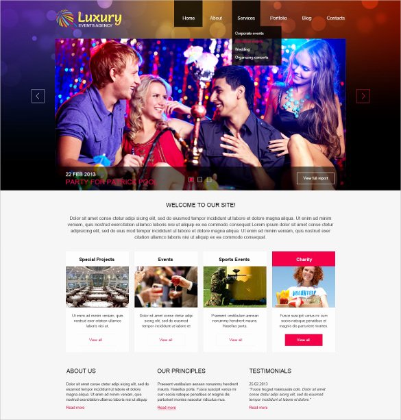 Event Website Template Free New 21 event Website themes & Templates