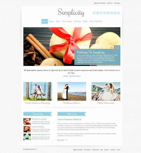 Event Website Template Free New Free Wedding Planning Website Templates 19 Best Wedding