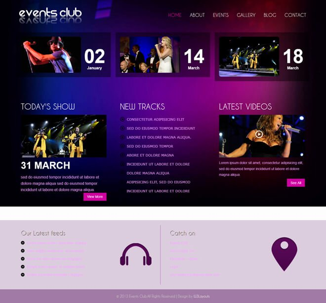 Event Website Template Free Unique Free event Bootstrap Template List Of Best Quality HTML5