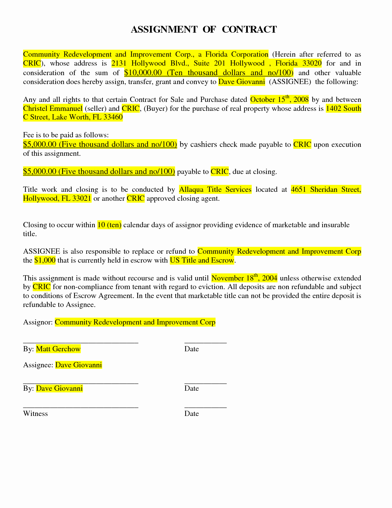 Eviction Notice Florida Template New 9 Best Of Florida Eviction Notice Template 3 Day