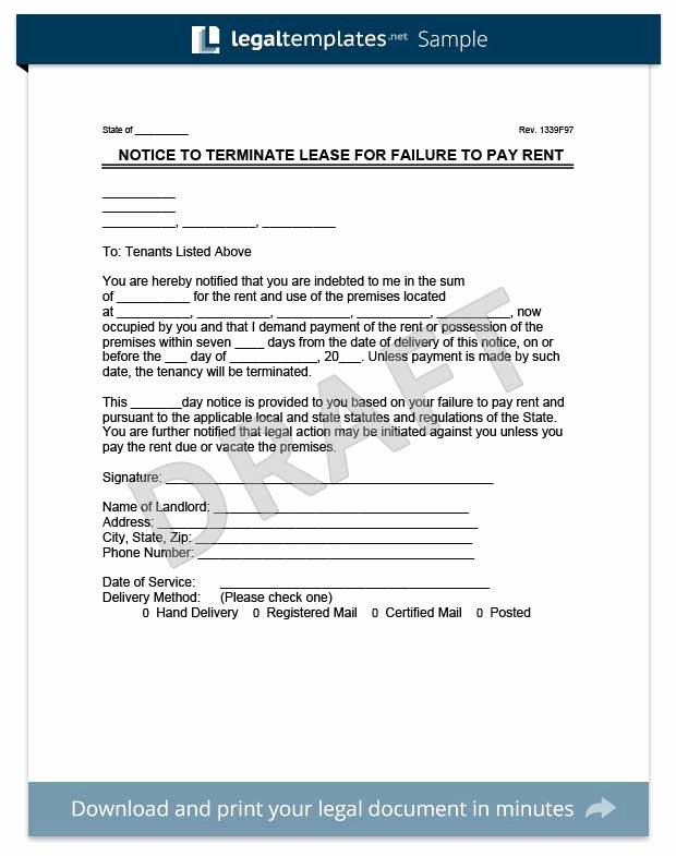 Eviction Notice Florida Template Unique Eviction Notice Create A Free Eviction Letter In Minutes