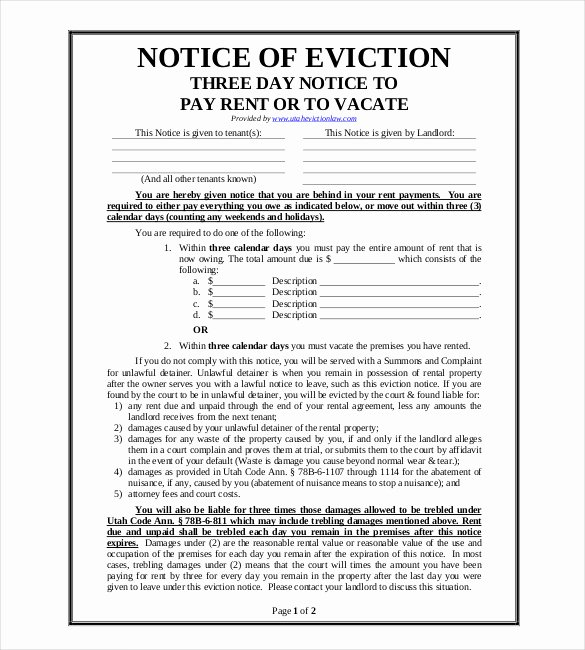 Eviction Notice Template California Inspirational 38 Eviction Notice Templates Pdf Google Docs Ms Word