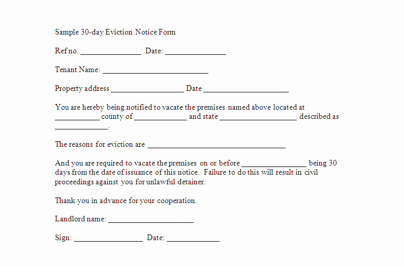 Eviction Notice Template Florida Fresh Free Downloadable Eviction forms