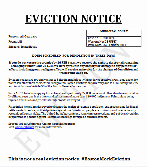 Eviction Notice Template Florida Fresh Jews Sans Frontieres March 2014