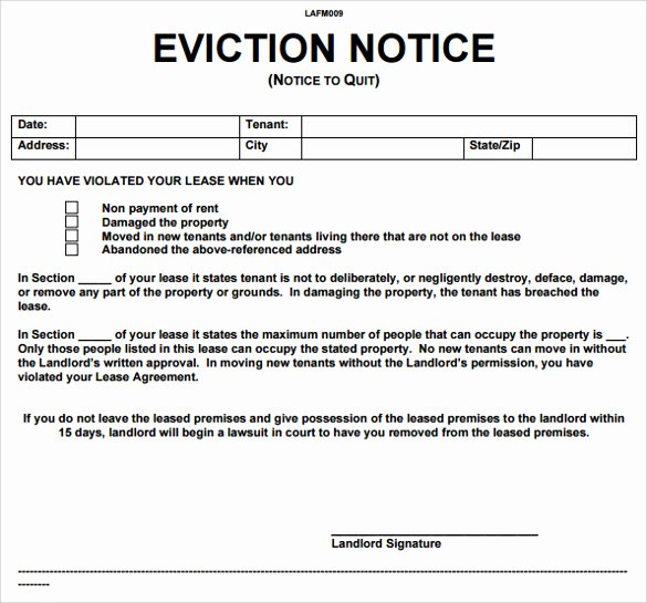 Eviction Notice Template Texas Awesome Eviction Notice Texas