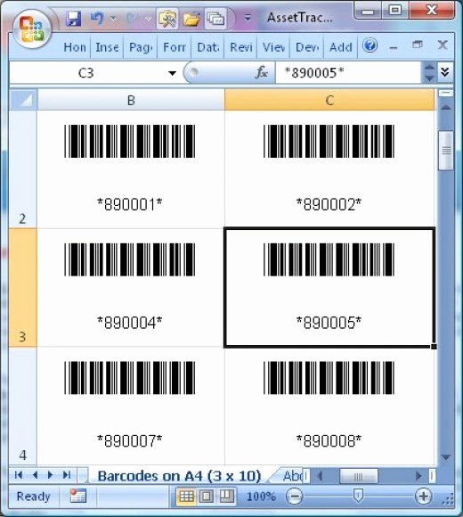 Excel asset Tracking Template Inspirational Barcode assets Tracking – Track assets for Home Inventory