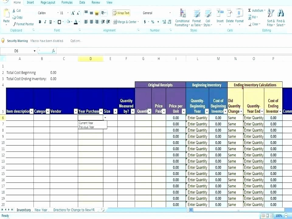 Excel asset Tracking Template Lovely Excel Inventory Template with formulas asset Ms Tracking