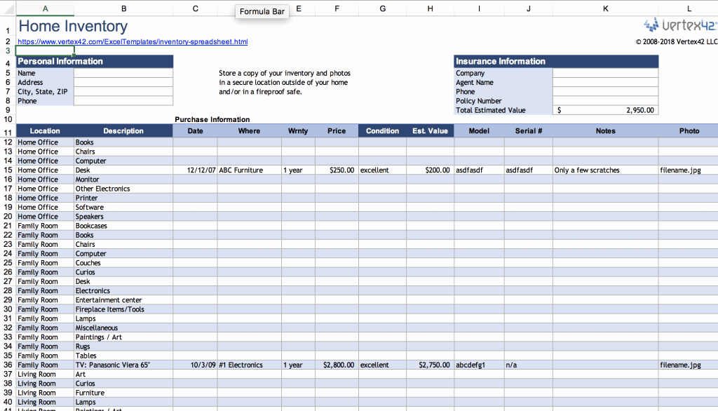 Excel asset Tracking Template Luxury top 10 Inventory Tracking Excel Templates Blog Sheetgo