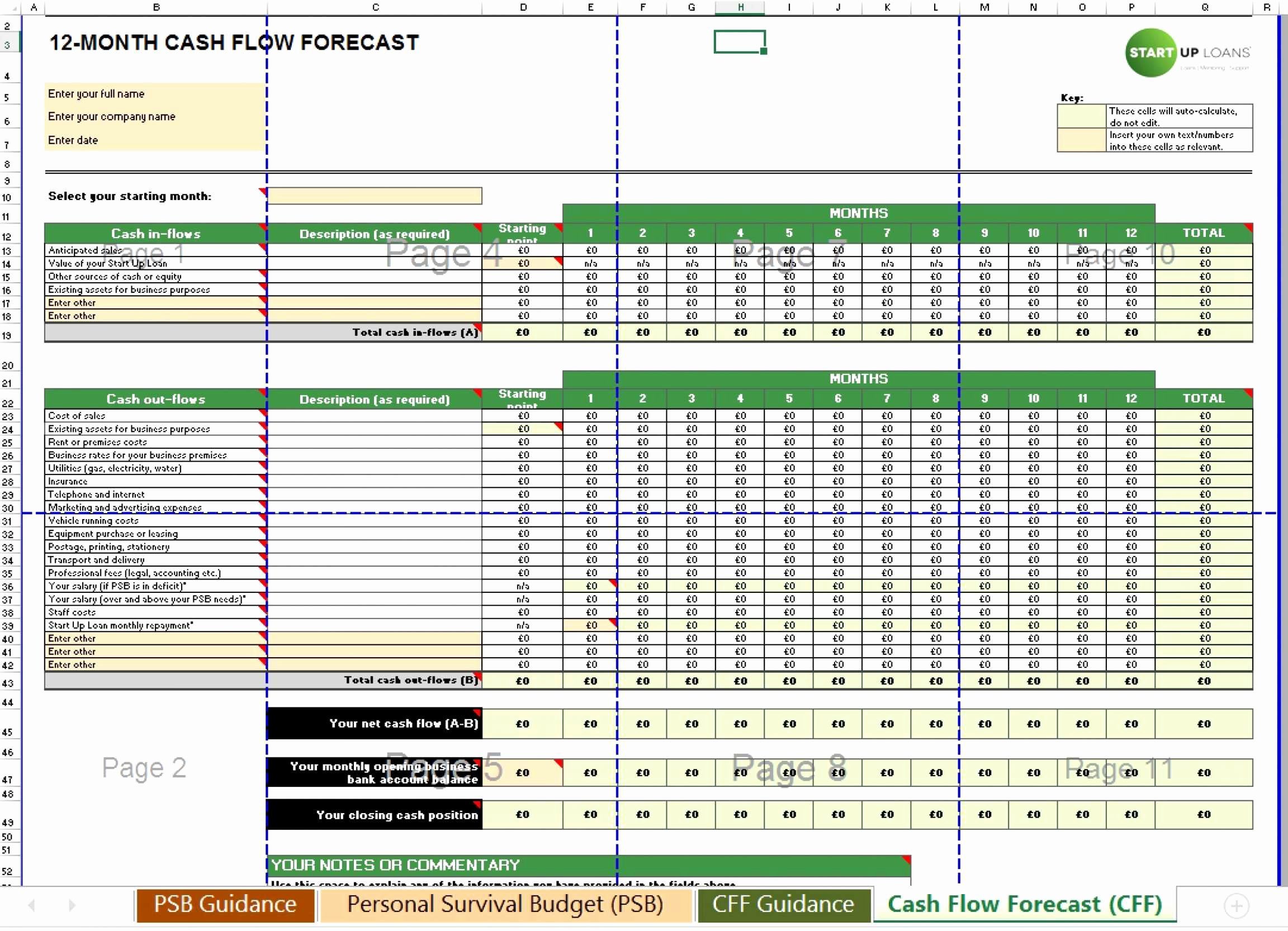 Excel Cash Flow Template Awesome Discounted Cash Flow Excel Template