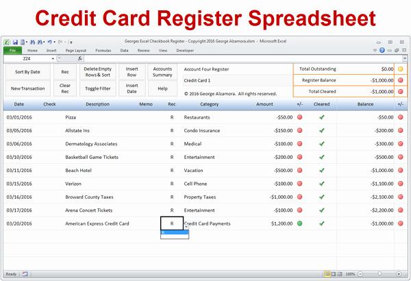 Excel Checkbook Register Template Best Of Excel Checkbook Register Spreadsheet – Buyexceltemplates