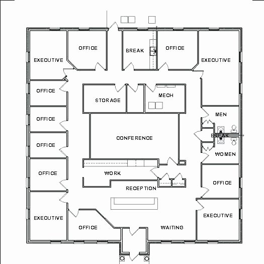 Excel Floor Plan Template Inspirational Floor Plan Layout Fice Templates Template Excel