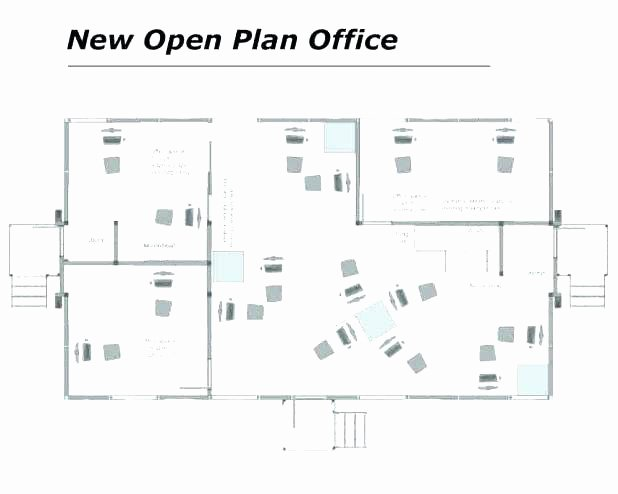 Excel Floor Plan Template New Design Floor Plans with Excel