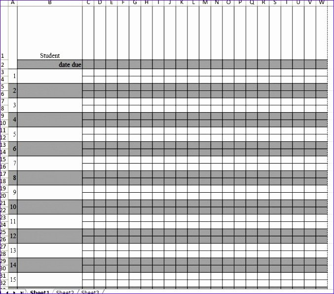 Excel Grade Sheet Template Awesome 12 Gradebook Excel Template Exceltemplates Exceltemplates