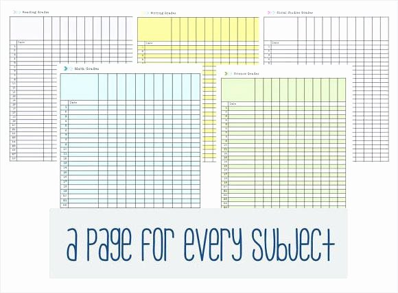 Excel Grade Sheet Template Awesome Printable Teacher Grade Sheet Free Sheets Template Excel
