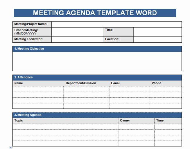 Excel Meeting Minutes Template Best Of Get Free Meeting Agenda Template In Word Microsoft Excel