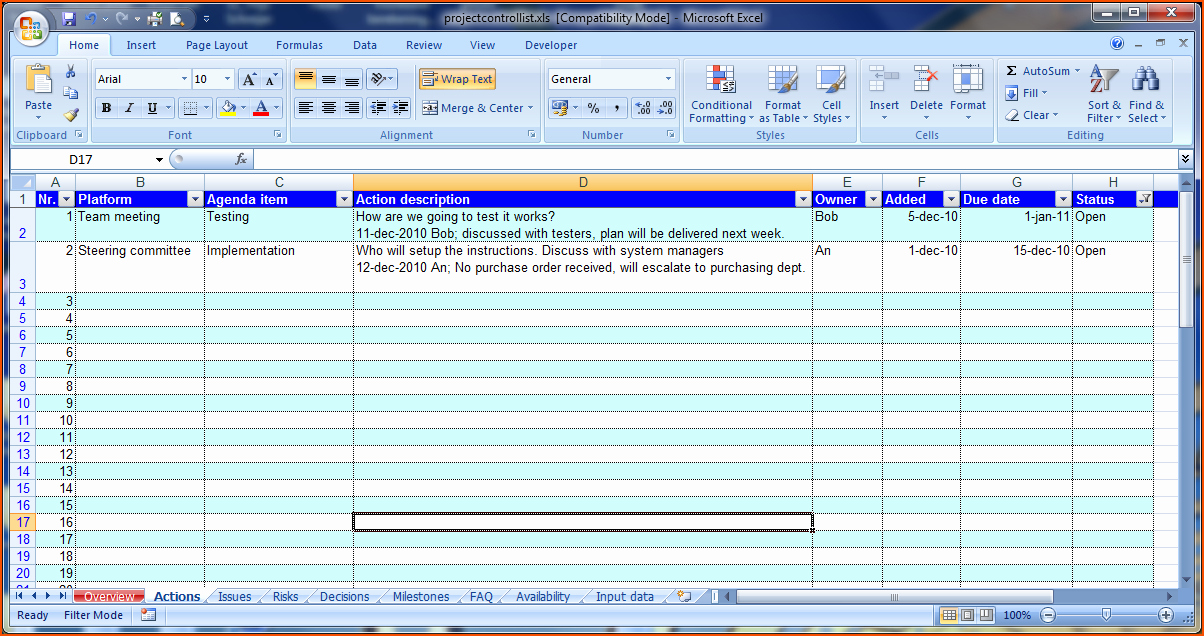 Excel Meeting Minutes Template Inspirational 8 Meeting Minutes Template Excel Bookletemplate