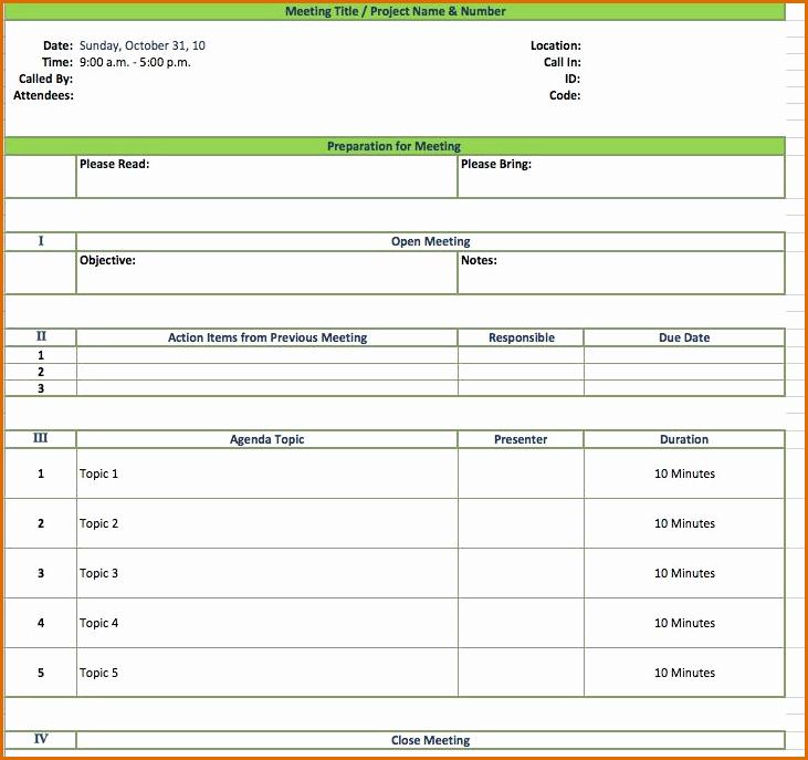 Excel Meeting Minutes Template Luxury 12 Meeting Minutes Template Excel