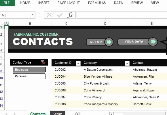 Excel Phone List Template Best Of Customer Contact List Excel Template