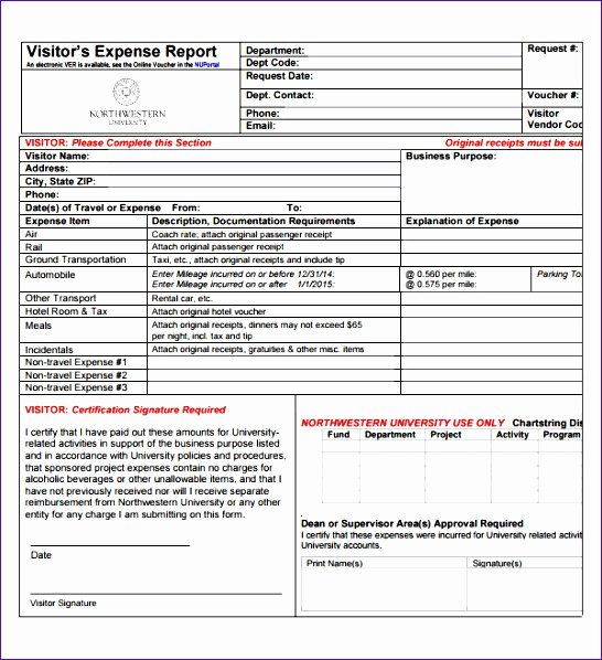 Excel Travel Expense Template Awesome 12 Travel Expense form Template Excel Exceltemplates
