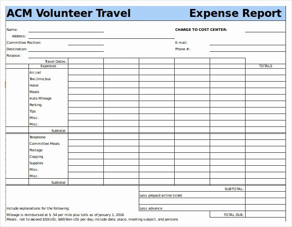 Excel Travel Expense Template Inspirational Travel Expense Report Example Driverlayer Search Engine