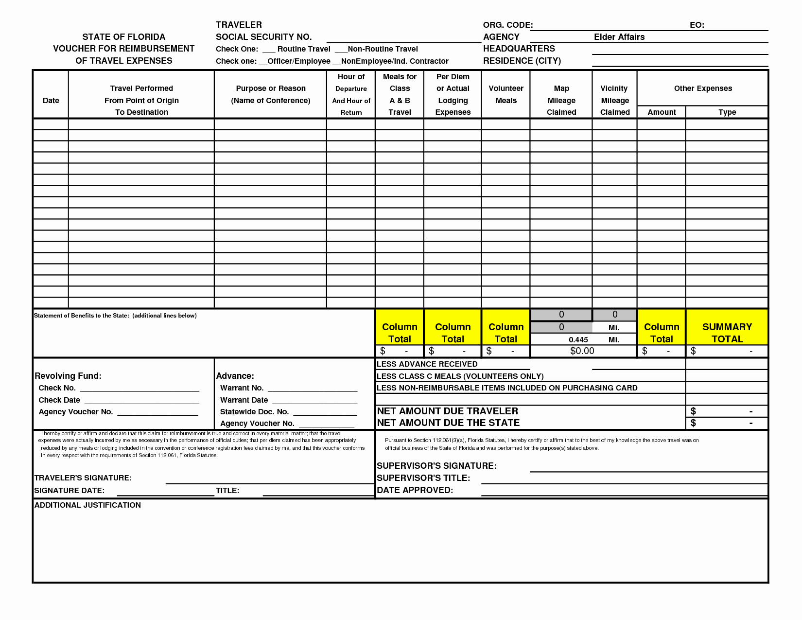 Excel Travel Expense Template New Best S Of Travel and Expense forms Excel Sample