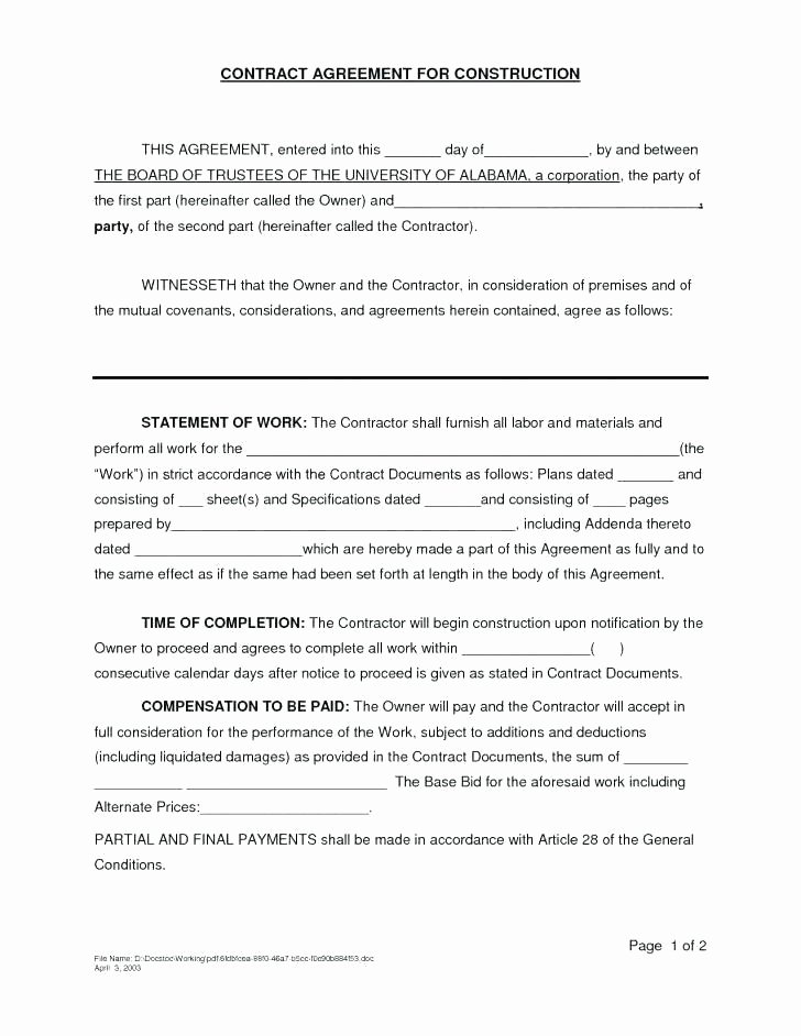 Exclusive Supplier Agreement Template Elegant Artist Contract Template Free Sale Mission Agreement A