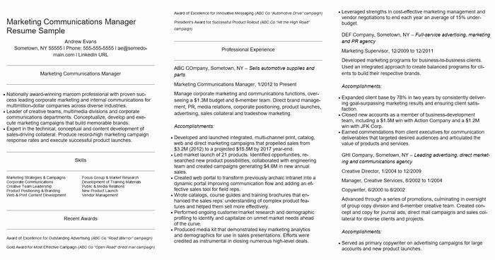 Executive Director Resume Template Fresh the 10 Best Executive Cv Examples