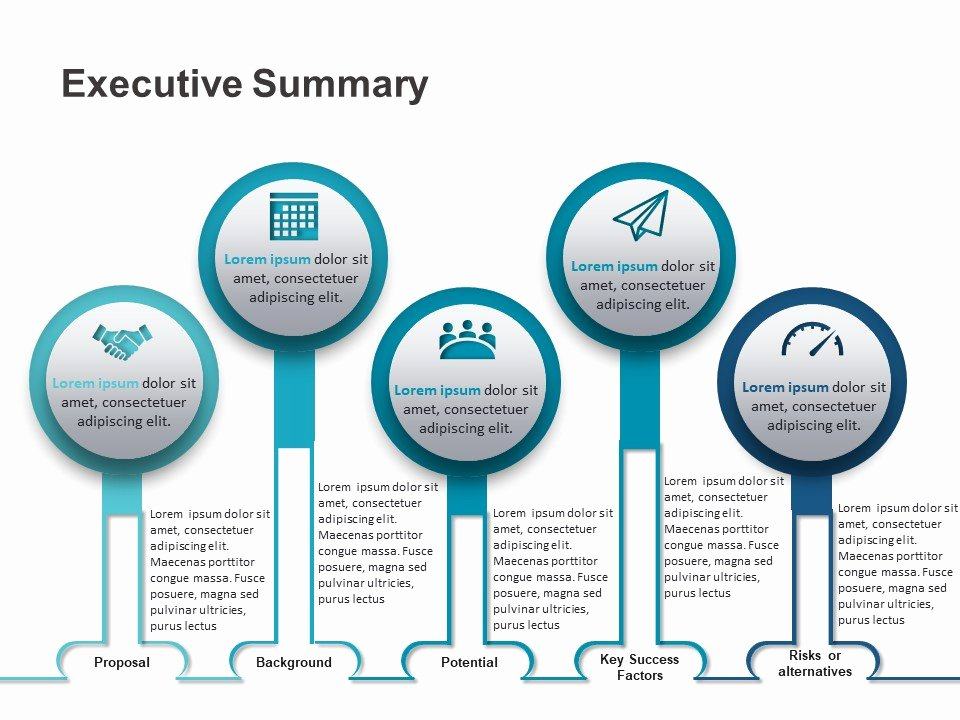 Executive Summary Powerpoint Template Awesome Executive Summary Powerpoint Template 1