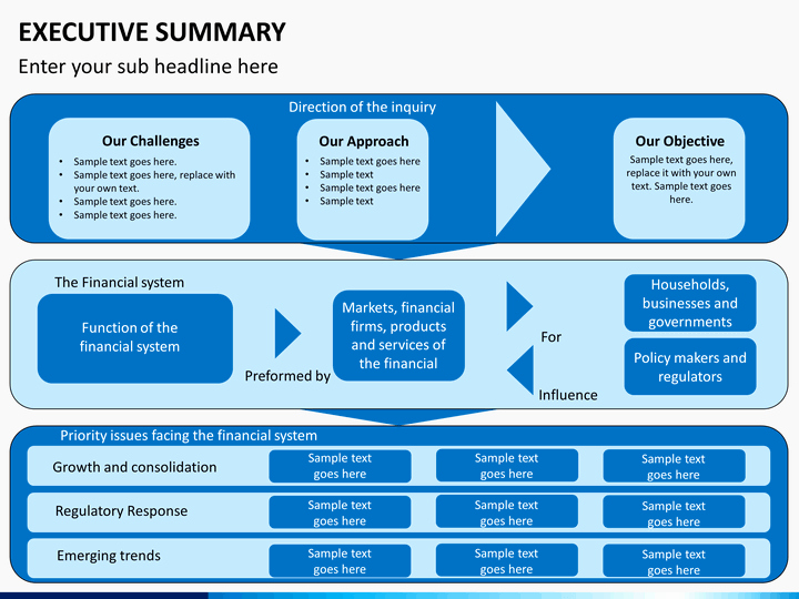 Executive Summary Powerpoint Template Awesome Executive Summary Powerpoint Template