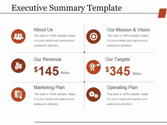 Executive Summary Powerpoint Template Awesome Executive Summary Word Template Executive Summary