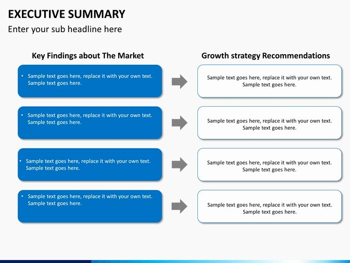 Executive Summary Powerpoint Template Beautiful Executive Summary Slide Template Invitation Template