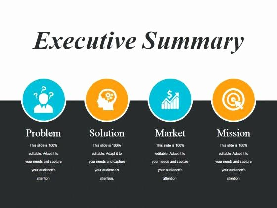 Executive Summary Powerpoint Template Fresh Executive Summary Template Powerpoint for Microsoft