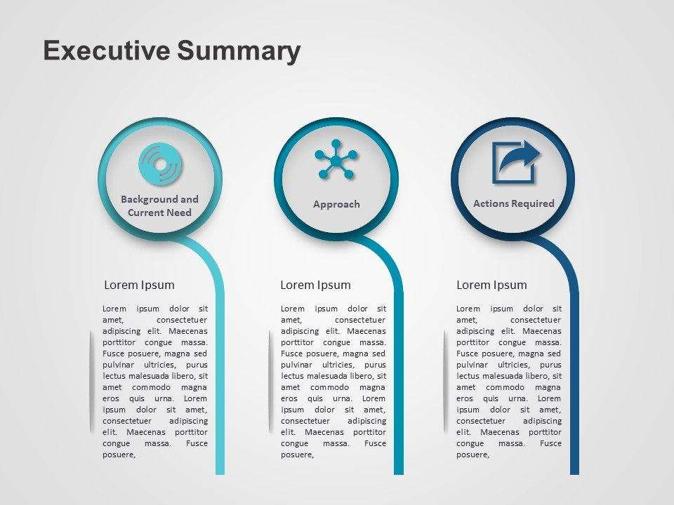 Executive Summary Powerpoint Template Inspirational Executive Summary Powerpoint Template 3 Slideuplift