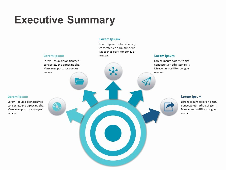 Executive Summary Powerpoint Template Luxury Executive Summary Powerpoint Template 5 Slideuplift