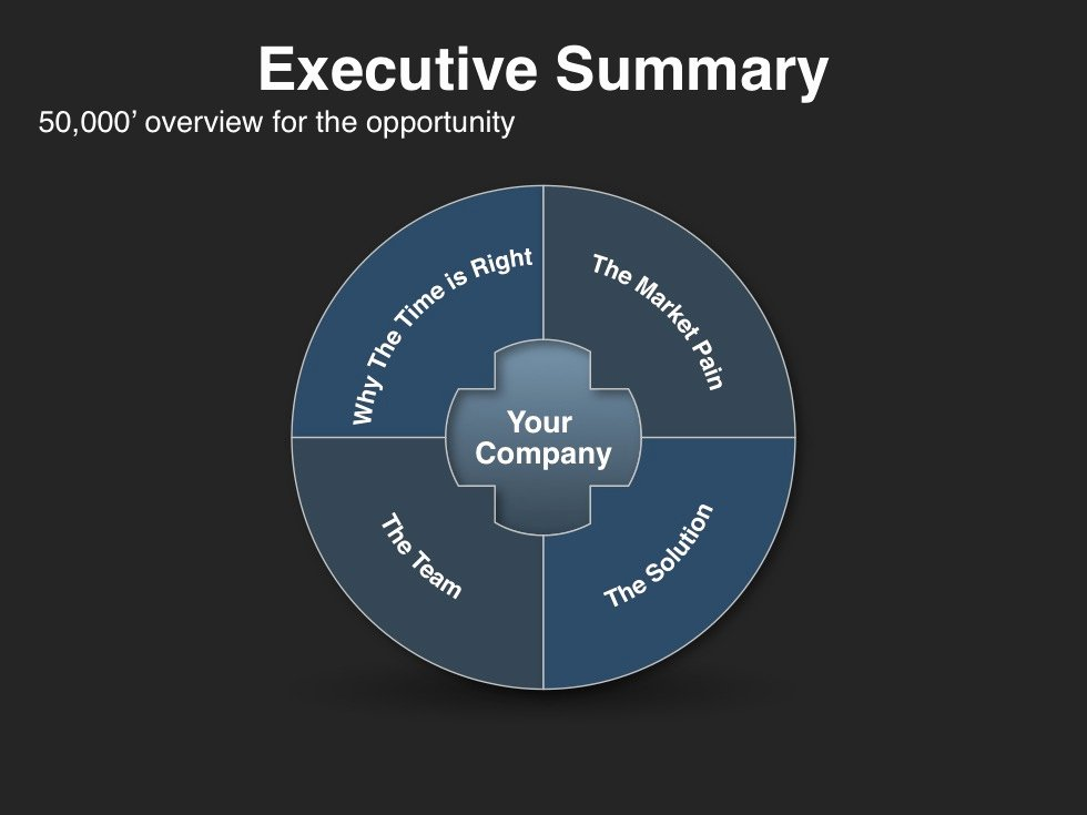Executive Summary Powerpoint Template Unique Investor Presentation Template