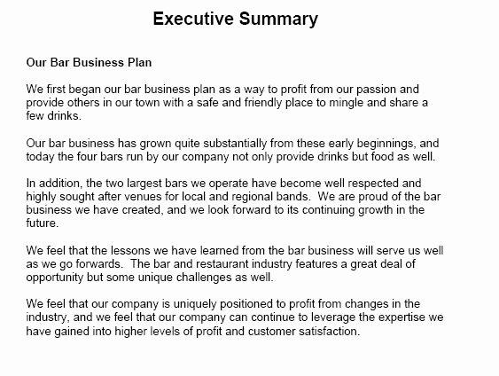 Executive Summary Template Pdf Awesome 13 Executive Summary Templates Excel Pdf formats