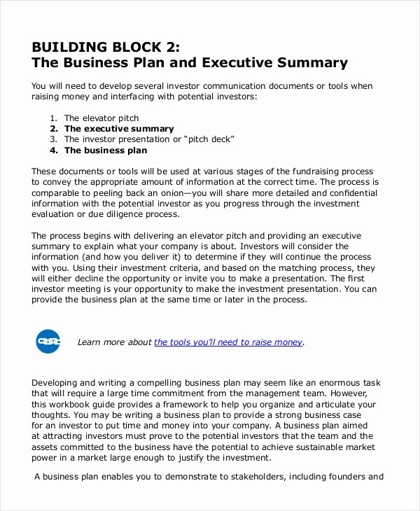 Executive Summary Template Pdf Elegant Executive Summary Template 8 Free Word Pdf Documents