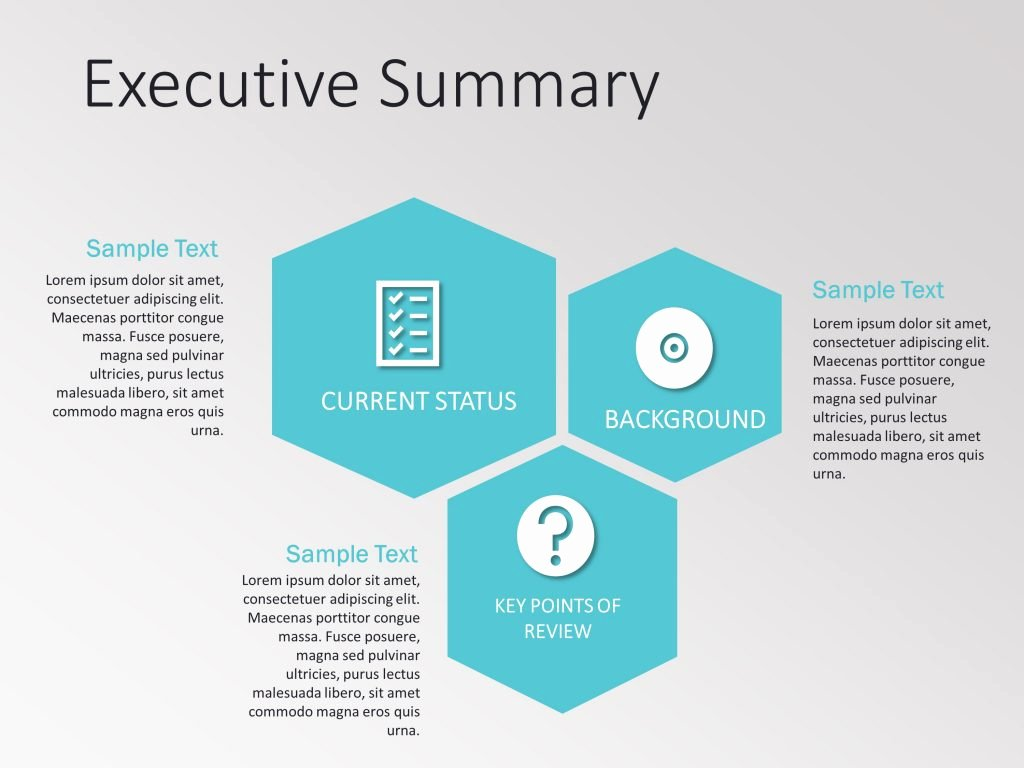 Executive Summary Template Ppt Elegant Executive Summary Powerpoint Template 2