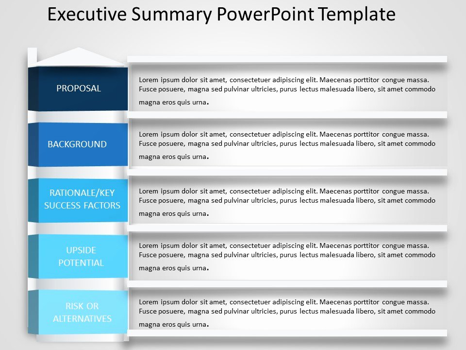Executive Summary Template Ppt Inspirational Executive Summary Powerpoint Template 14