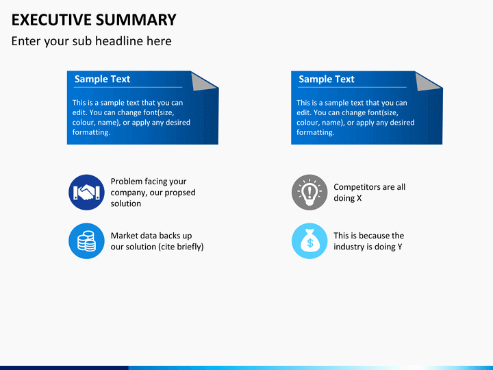 Executive Summary Template Ppt Lovely Executive Summary Powerpoint Template
